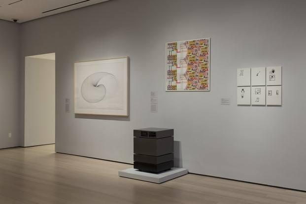 sala exposicion thinking machines moma diariodesign