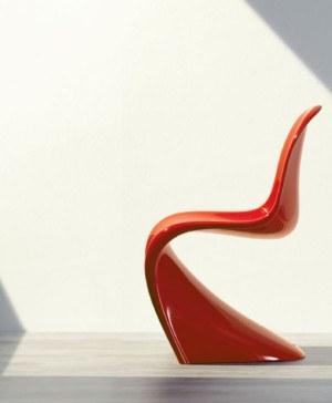 silla panton roja diariodesign