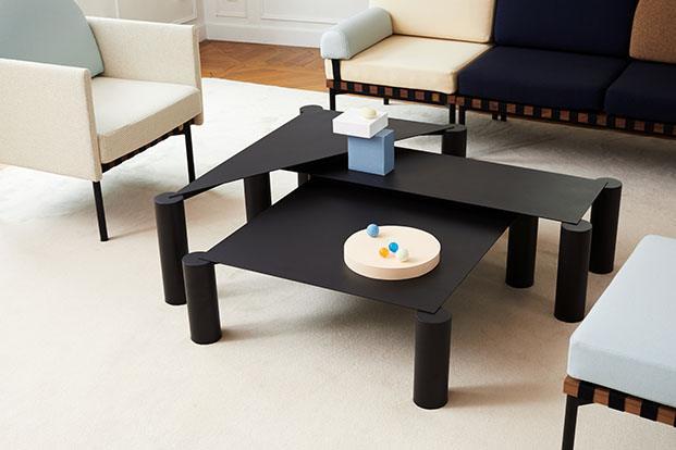 mesa de centro de petite friture en colonia diariodesign