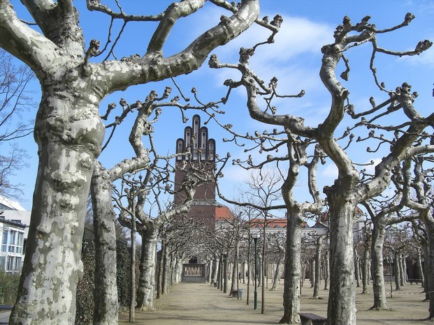 torre boda museo mathildenhoehe darmstadt diariodesign