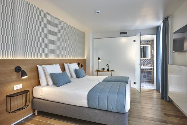 Hygge Hotel en Bruselas interiorismo de michel Penneman dormitorio diariodesign