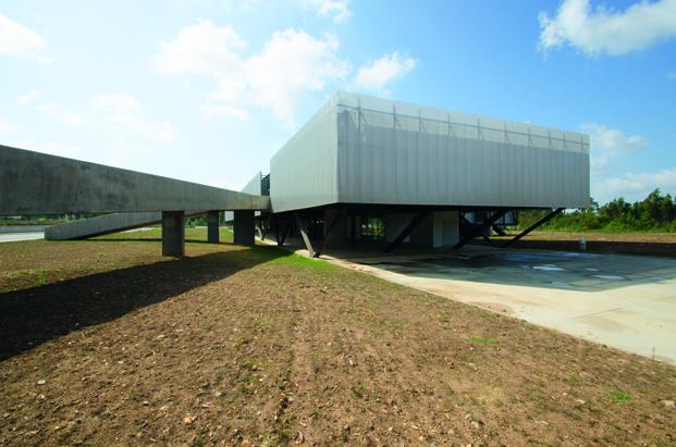 Centro de Negocios de Área de Acogida Empresarial en Oliveira de Azeméis en portugal diariodesign