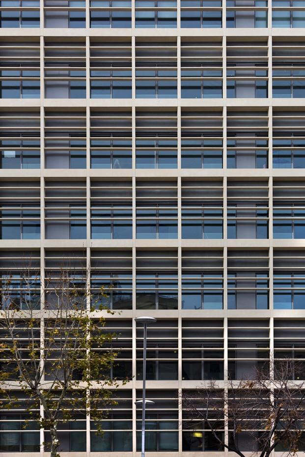 fachada technal de un edificio de oficinas en Barcelona diariodesign