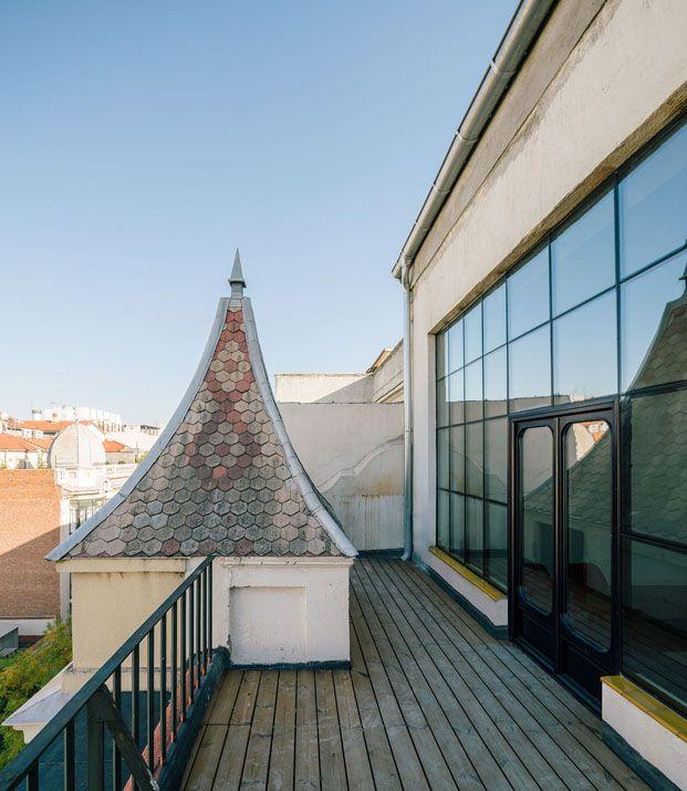 El mundo fantástico de un ático urbano en Madrid terraza diariodesign