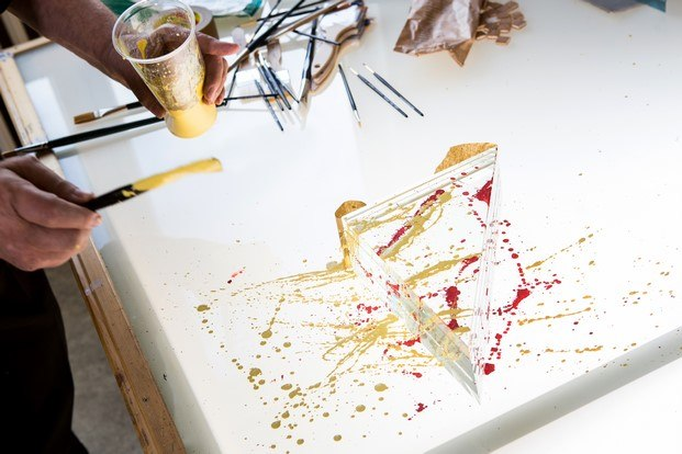 cristal pintado lasvit diariodesign