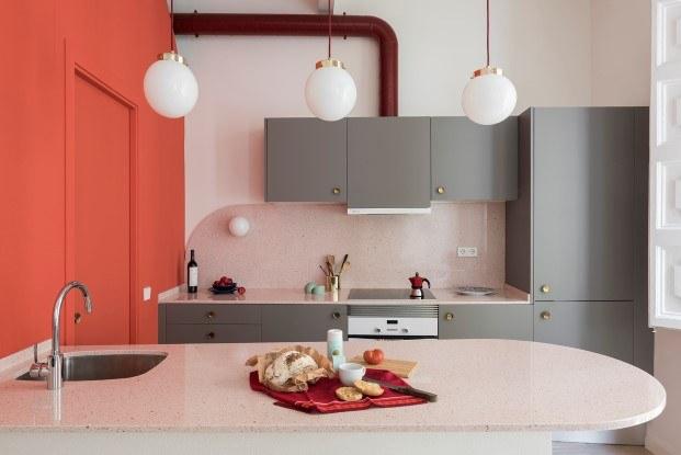 estudio de color rosa en el born barcelona diariodesign