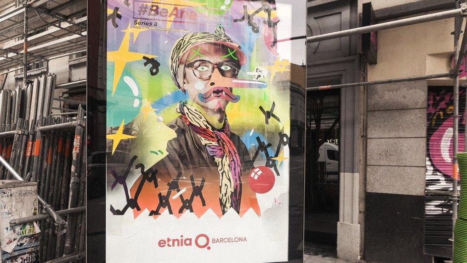 etnia campaña beanartist madrid diariodesign