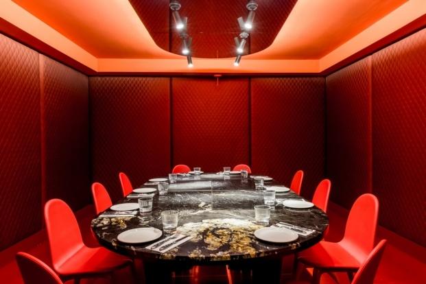 hotel axel madrid comedor rojo diariodesign