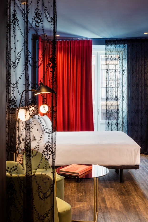 hotel axel madrid el equipo creativo cortinas diariodesign