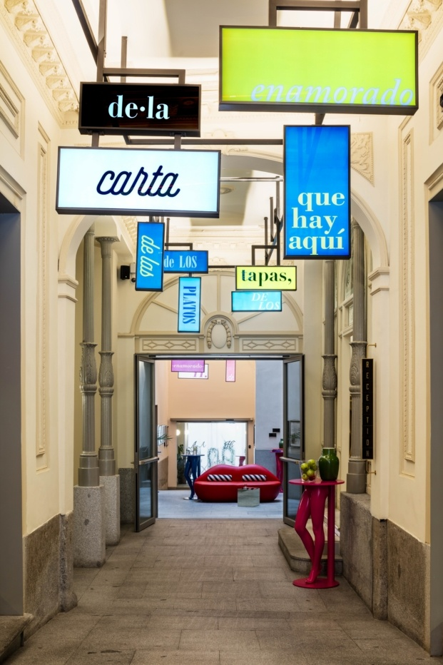 hotel axel madrid el equipo creativo entrada diariodesign