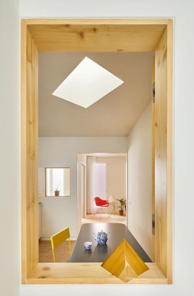 maio arquitectos vivienda 110 rooms arquitectura en Barcelona diariodesign estancia