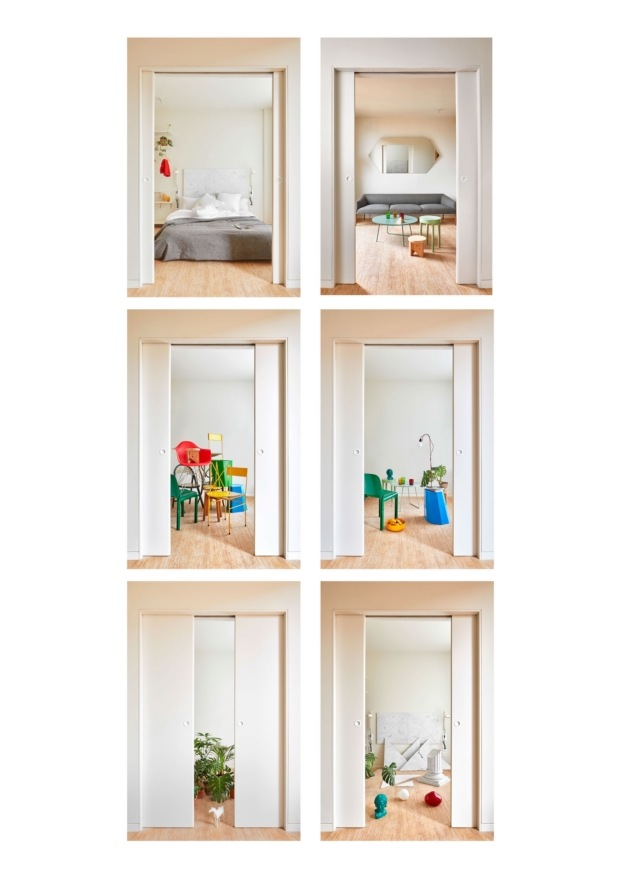 maio arquitectos vivienda 110 rooms arquitectura en Barcelona diariodesign variaciones