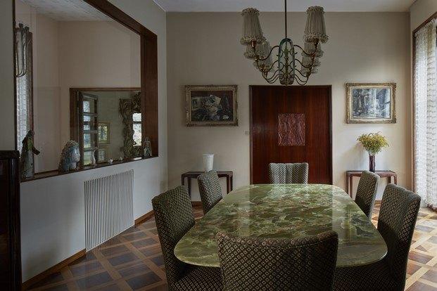mesa de comedor marmol villa borsani diariodesign