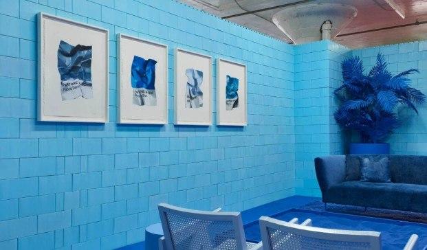 monochrome proyecto en Brooklyn azul diariodesign
