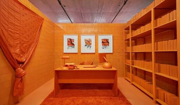 monochrome proyecto de CJ Hendry en Brooklyn naranja diariodesign