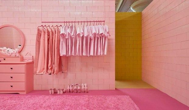 monochrome proyecto de CJ Hendry en Brooklyn rosa diariodesign