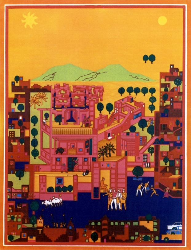 pritzker balkrishna doshi diariodesign vidhyadhar nagar masterplan