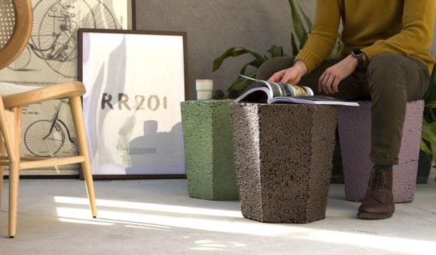 taburetes roca recicla de andreu carulla diariodesign