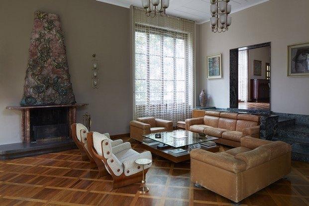 sala villa borsani diariodesign