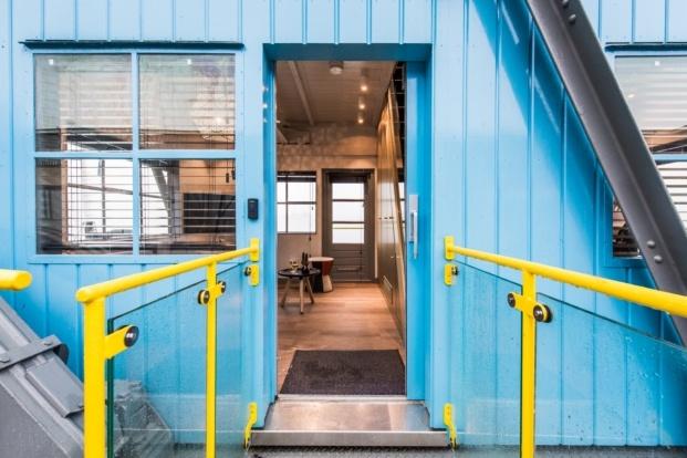 The Yays Crane Apartment descubre Amsterdam de forma diferente diariodesign
