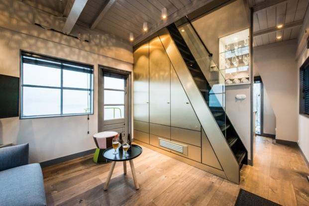 the yays crane apartment alojamiento en amsterdam diariodesign