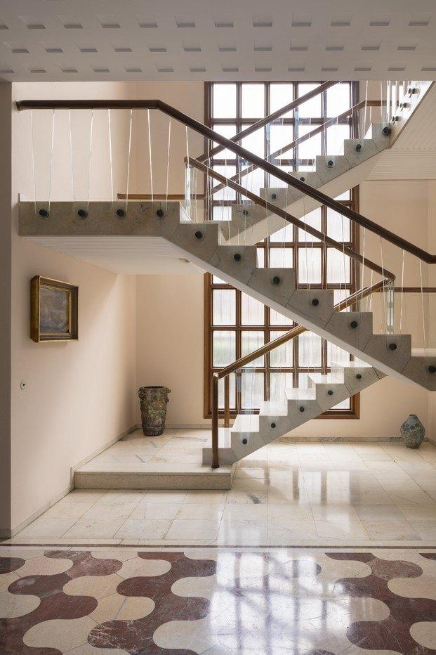villa borsani escalera diariodesign