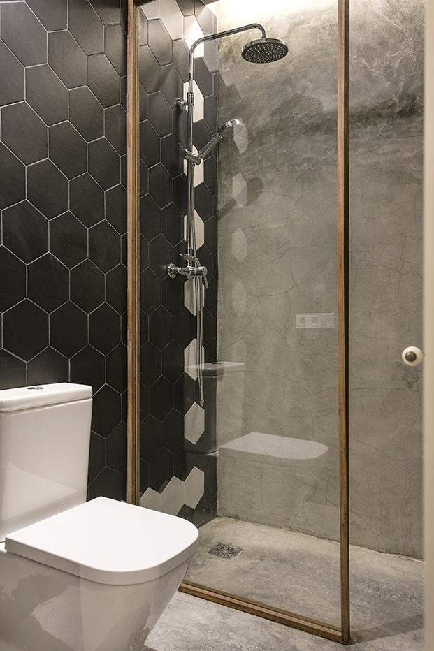 casa en Barcelona ABAG proyecto CB30 ducha diariodesign