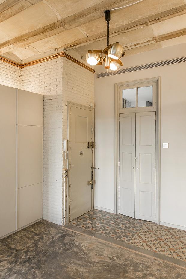 vivienda en Barcelona ABAG proyecto CB30 entrada diariodesign