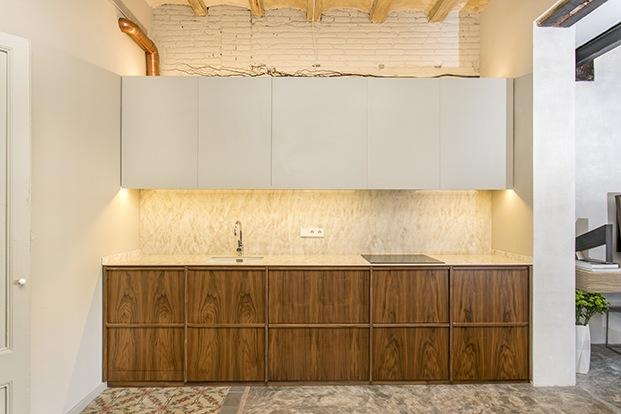 casa en Barcelona ABAG proyecto CB30 cocina diariodesign