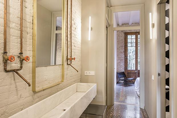 casa en Barcelona ABAG proyecto CB30 bano diariodesign