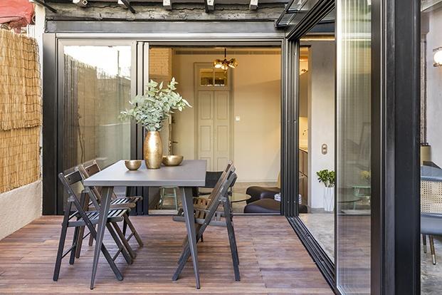 vivienda en Barcelona ABAG proyecto CB30 terraza diariodesign