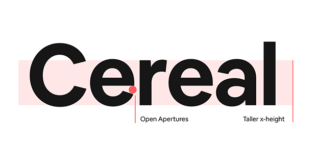 tipografía Airbnb Cereal Posters diariodesign