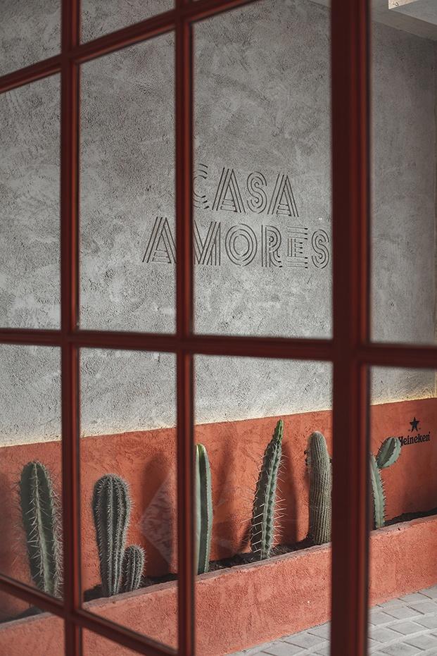 restaurante mexicano casa Amores en valencia cactus diariodesign