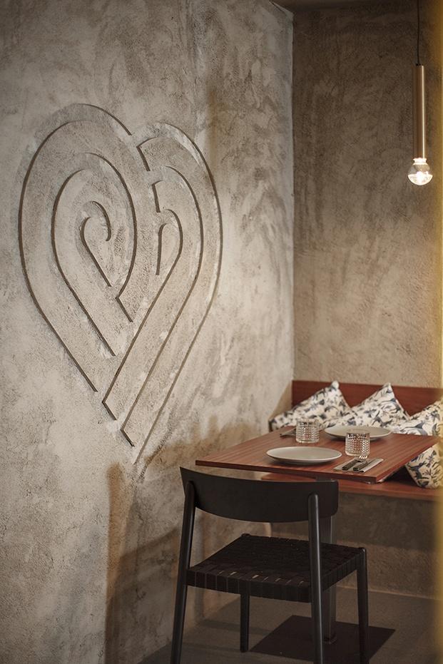 restaurante mexicano casa Amores en valencia reforma cemento diariodesign