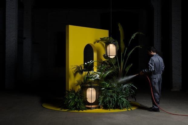 Kiwi Bravo para Parachilna iluminacion diariodesign