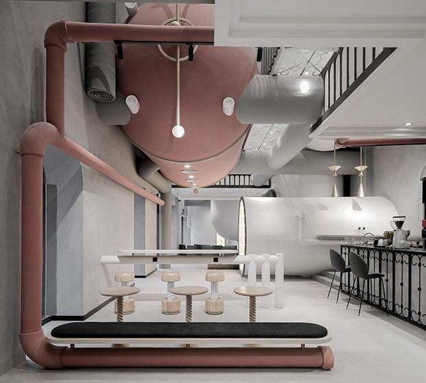 Powerlong Ideas Lab Shanghai centro comercial y de trabajo de XLiving diariodesign tanques