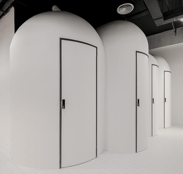 Powerlong Ideas Lab Shanghai centro comercial y de trabajo de XLiving banos diariodesign