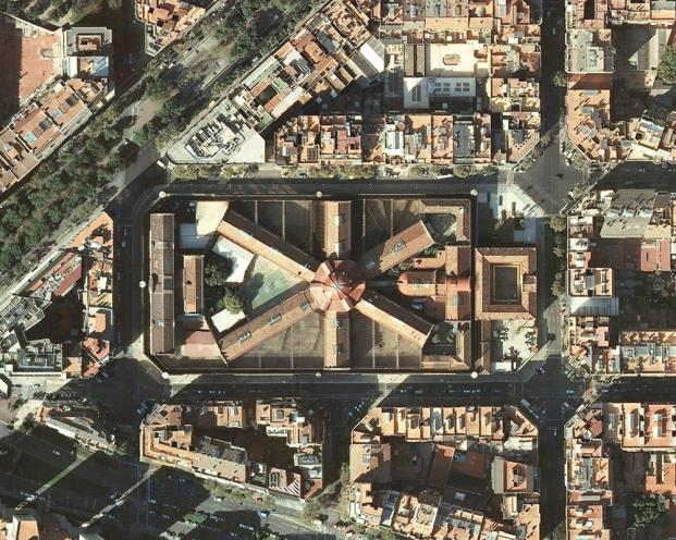 La Modelo protagonista de la Semana de Arquitectura 2018 vista aerea diariodesign
