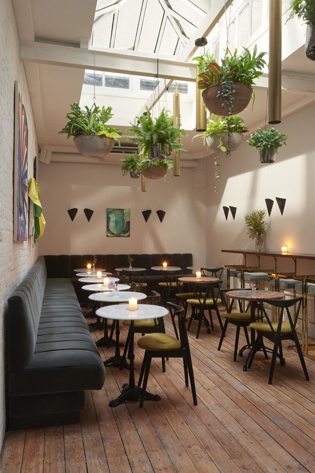 The AllBright club exclusivo para mujeres en londres No12 arquitectos bar diariodesign
