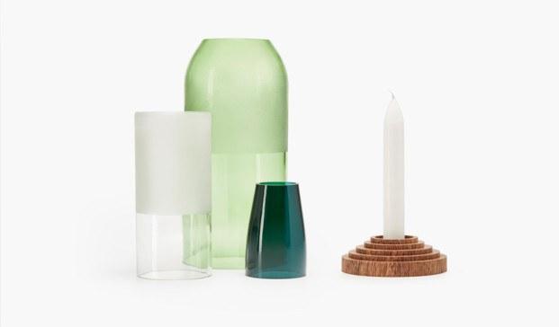 objetos reciclados de vidrio y terrazo de la fundación bottle up diariodesign