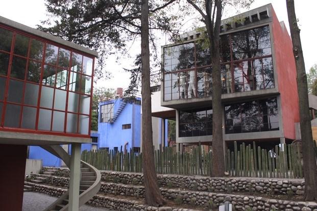 casa frida kahlo y diego rivera parejas modernas pompidou diariodesign
