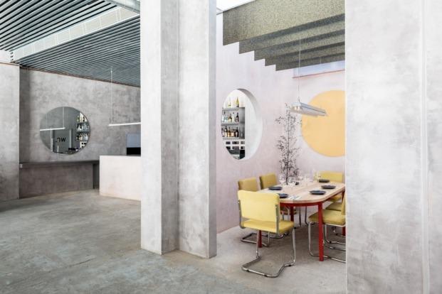 casa plata sevilla lucas hernandez gil diariodesign cemento chapa