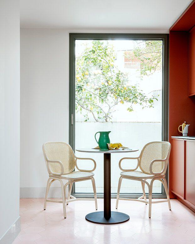 comedor con silla frames expormim jaime hayon diariodesign
