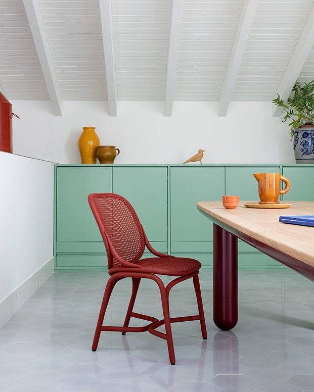 silla frames rojo jaime hayon expormim diariodesign