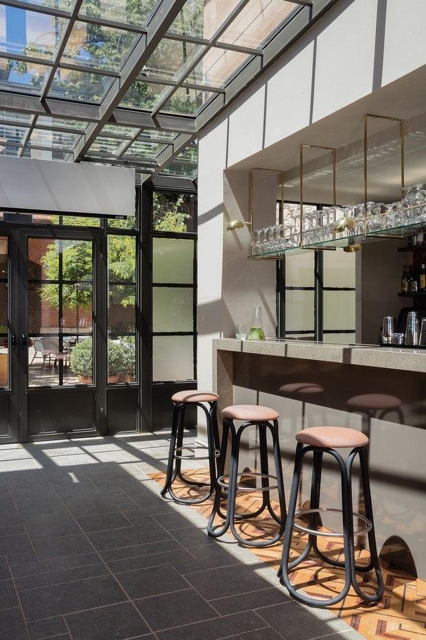 expormim taburetes de miguel mila en el salone del mobile de Milan novedades en diseño español diariodesign