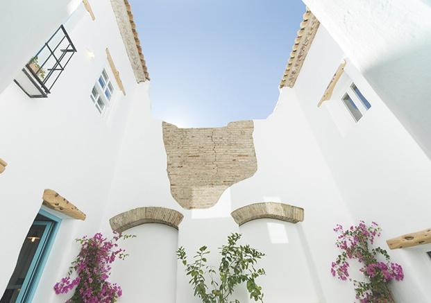 la casa del puerto apartamentos en valencia patio diariodesign