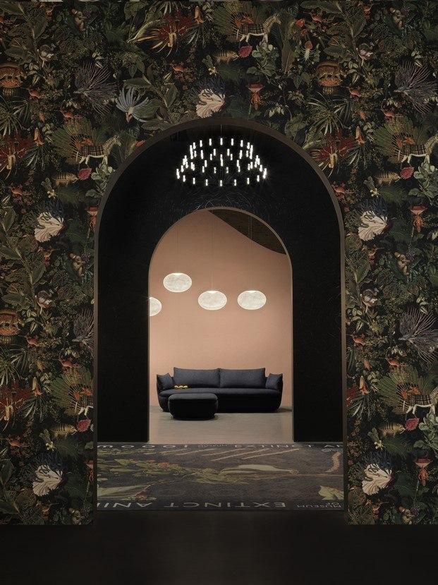 sofa de moooi via savona milan diariodesign