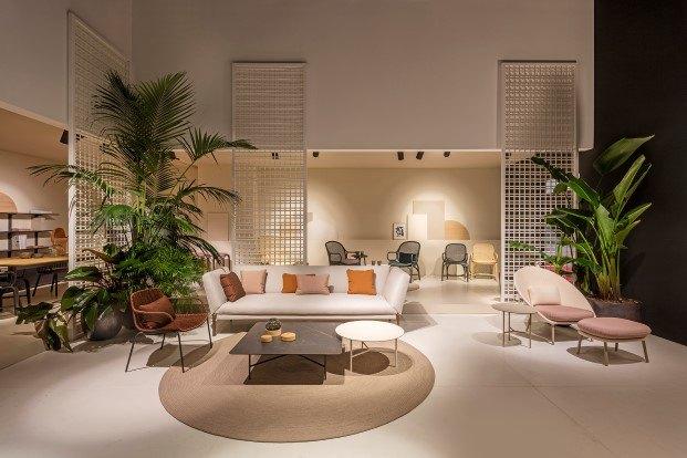 expormim presenta sillas de rattan frames de hayon en milan 2018 diariodesign