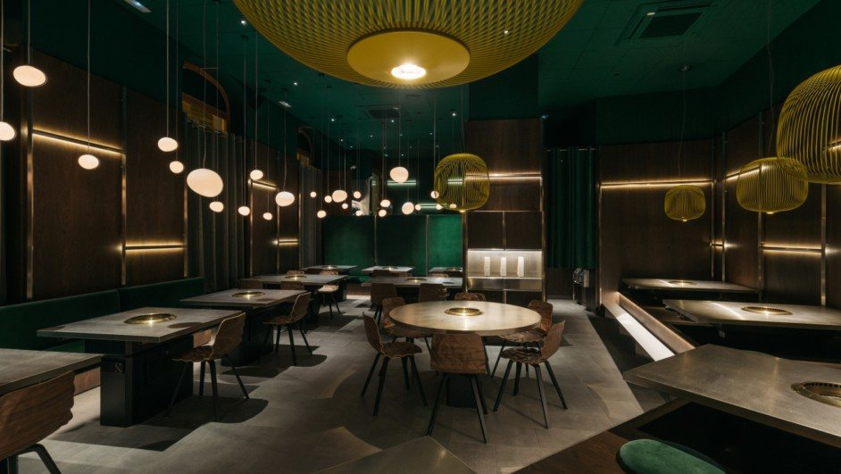 yakiniku rikyu un restaurante japonés en madrid de stone designs diariodesign