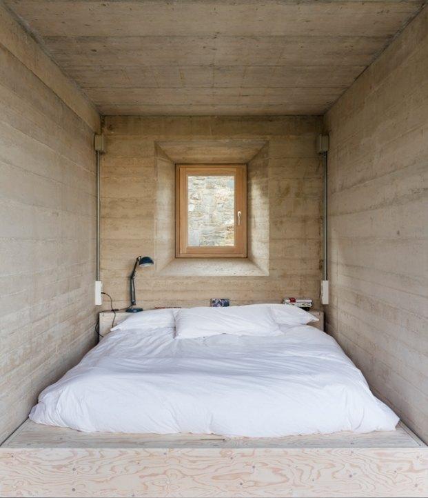 1413 harquitectes casa ullastret adria goula dormitorio